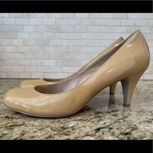 Steve Madden Nude Leather Pumps